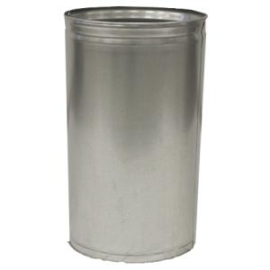 Witt 12 Gallon Indoor Receptacle Steel Galvanized Liner