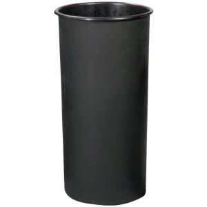 Witt Standard Series 20 Gallon Rigid Plastic Liner in Black