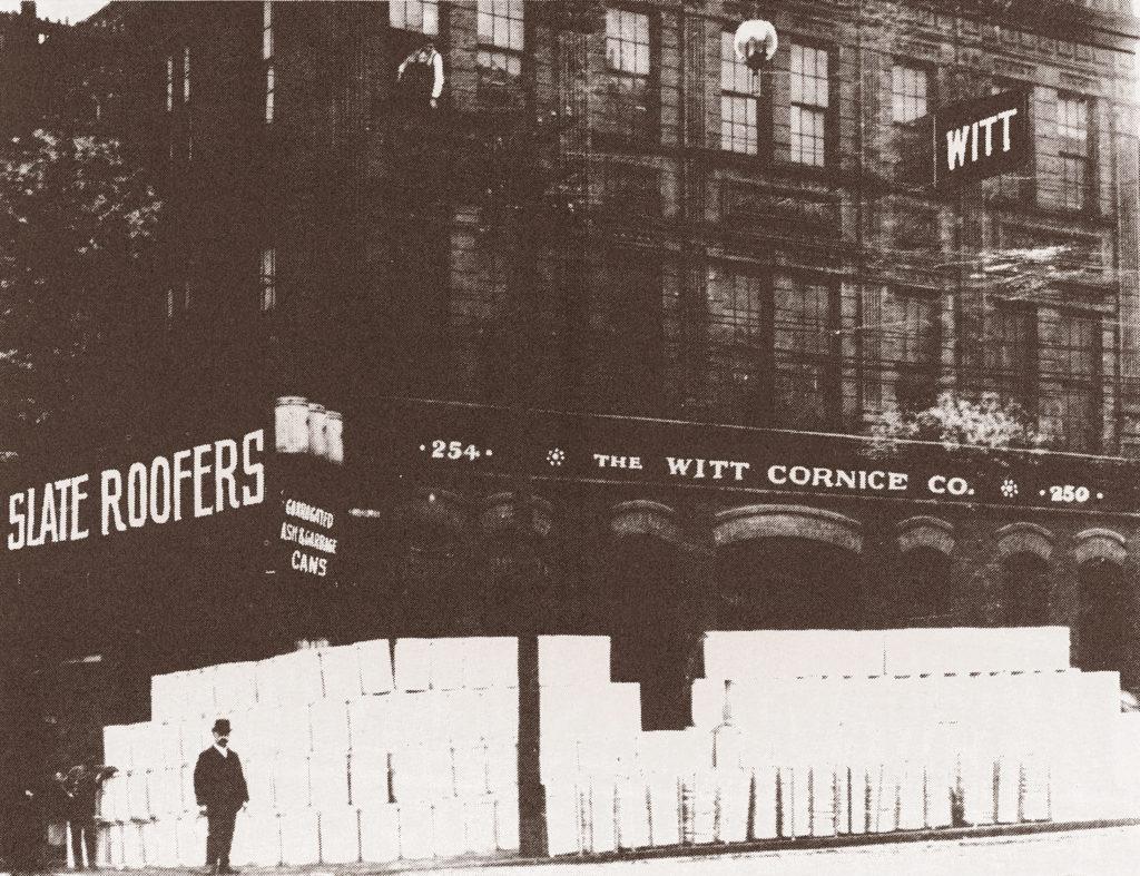 Historic Photo of Witt Cornice Co. Company Plant