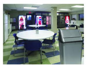 Witt Waste Watchers Stainless Steel Receptacle Indoor Environment