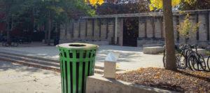 Witt Oakley Standard Receptacle in Outdoor Environment