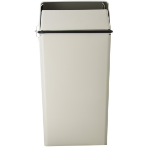 36 Gallon Classic Security Receptacle with Lock and Key in Almond