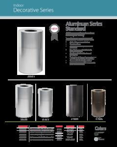 Witt Indoor Decorative Series Aluminum Catalog Page Transparent