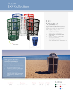 Witt Outdoor EXP Collection Catalog Page Transparent