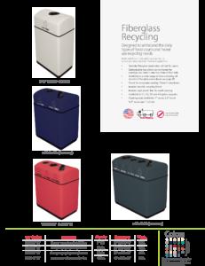 Witt Fiberglass Recycling Catalog Page Transparent