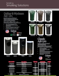 Witt Smoking Solutions Ash Urns Catalog Page Transparent