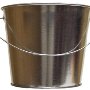 5 Quart Galvanized Steel Pail