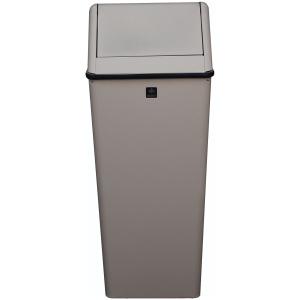 21 Gallon Swing Top Hamper and Top Waste Watcher in Slate