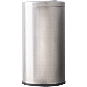 15 Gallon Polished Series Stainless Steel Fliptop