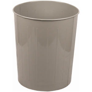 49.6 Quart Standard Large Round Wastebasket in Slate