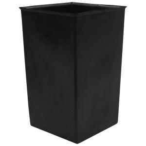 36 Gallon Black Square Indoor Plastic Liner