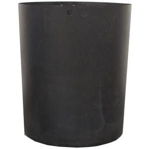 Black Plastic Receptacle Liner