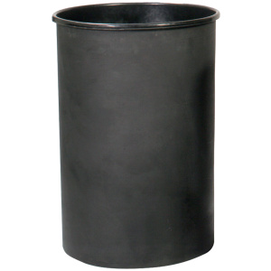 Witt Standard Series 55 Gallon Outdoor Rigid Plastic Liner in Black