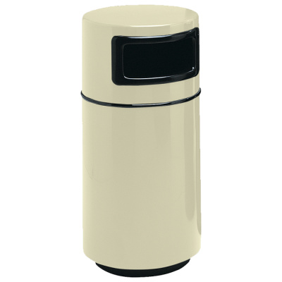Witt Industrial Garbage Can Fiberglass Round Side Entry
