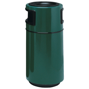 Fiberglass Round Side Entry Receptacle with Liner