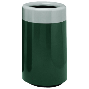 Fiberglass Round Top Entry Receptacle with Liner