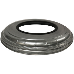 Metal Flat Top Lid with Round Opening 10/8LID