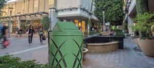 Witt Green Avant Garde Collection Receptacle Outdoor Environmental