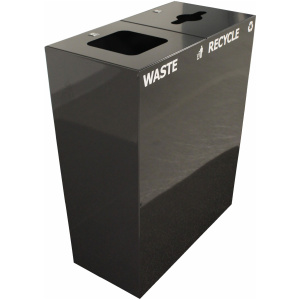 Witt Waste and Recycle Galvanize Trash Cans DD2 Product