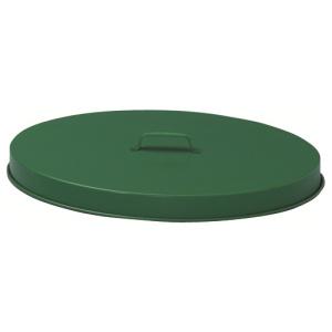 Steel Flat Top Drum Lid in Green
