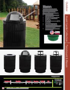 Witt Outdoor Mason Catalog Page Transparent