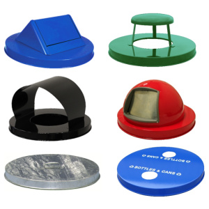 Witt Collage of Metal Style Lids