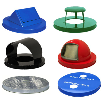 Witt Collage of Metal Style Lids Site Furnishings
