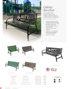 Witt Oakley Benches Catalog Page Transparent