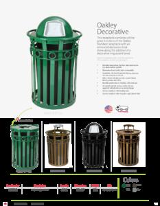 Witt Oakley Decorative Catalog Page Transparent
