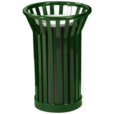 Witt Waste Receptacles Wydman Collection Urn in Green