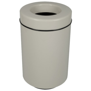 Fiberglass Round Open Top Entry Receptacle with Liner