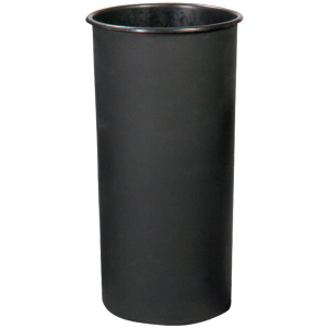 Witt Standard Series 10 Gallon Rigid Plastic Liner in Black