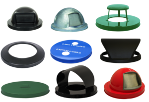 Witt Collage of Plastic and Steel Style Lids
